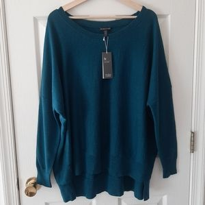 NWT Eileen Fisher Merino Wool Sweater Size Large